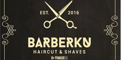 THE BARBERKU Barbershop Terbaik.