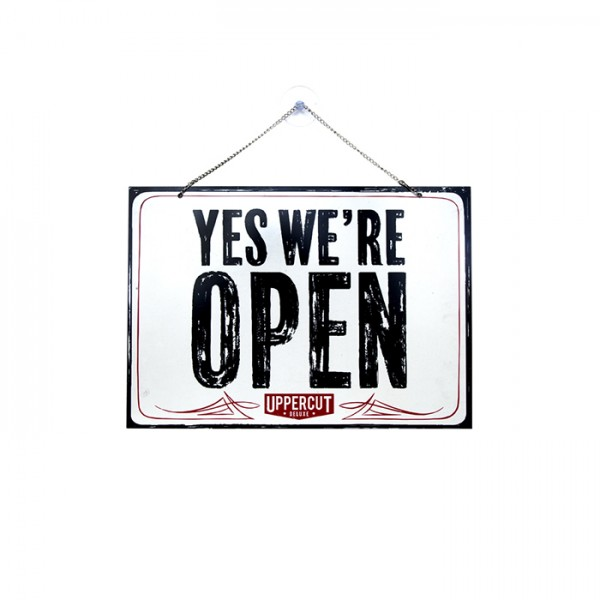 Uppercut Deluxe Open/Close Sign