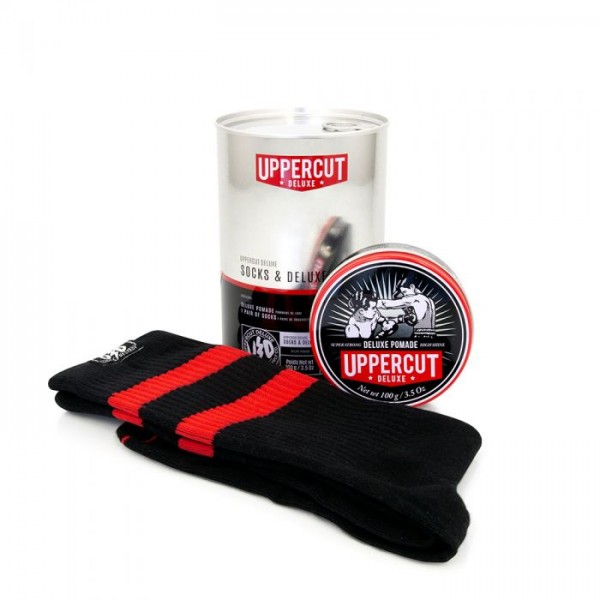 Uppercut Deluxe Socks and Deluxe Pomade