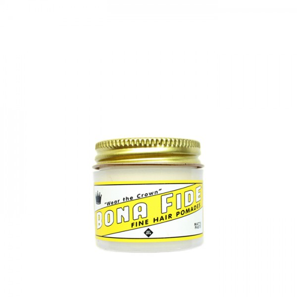 Bona Fide Matte Paste Pomade Travel Size