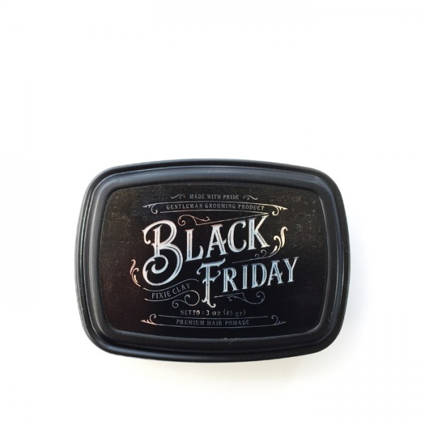 Black Friday Pomade Fixie Clay